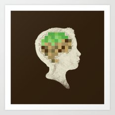 Mind Crafted Art Print