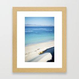 beechers bay Framed Art Print