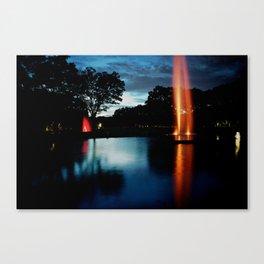 LIQUID FIRE Canvas Print