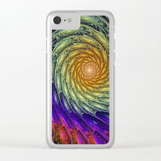 Solar energy Clear iPhone Case