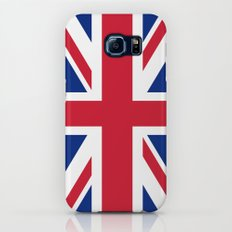 Union Jack, Authentic color and scale 1:2 Galaxy S7 Slim Case