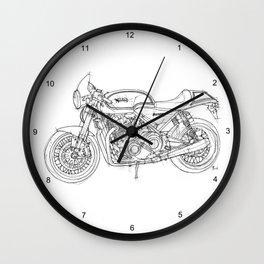 NORTON COMMANDO 961 CAFE RACER 2011 Wall Clock