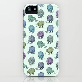 Hungry Kiwis – Cool Palette iPhone Case