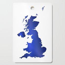 United Kingdom Map silhouette Cutting Board