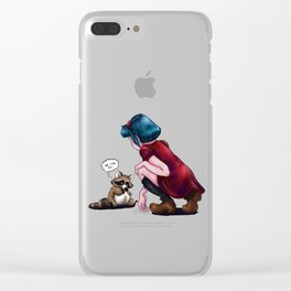 She Likes Me... Clear iPhone Case
