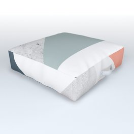 Modern Geometric 12 Outdoor Floor Cushion