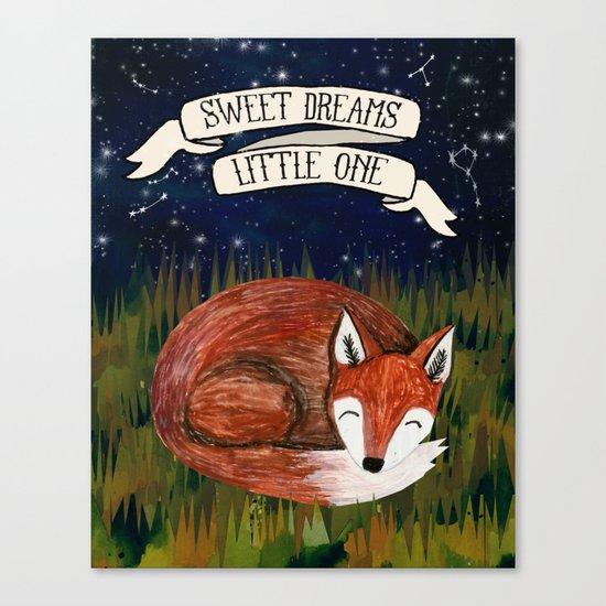 Sweet Dreams, Little One Canvas Print