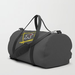 Dead Meeple Crime Scene Duffle Bag