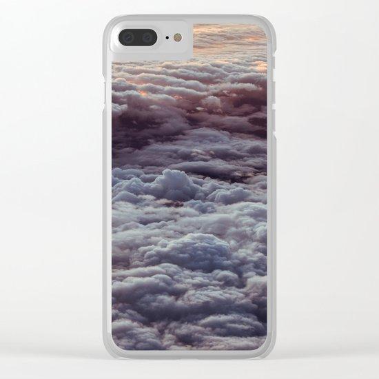 ABOVE CLOUDS Clear iPhone Case
