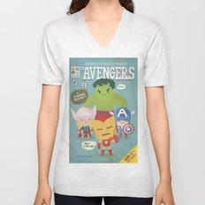 avengers fan art Unisex V-Neck