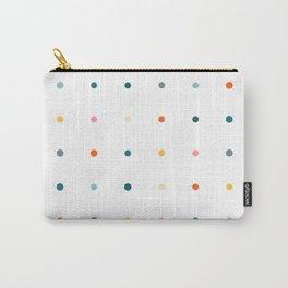 Festive multicolour pegboard Carry-All Pouch
