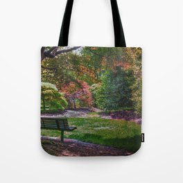 The Park Bench Tote Bag