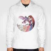 guardians Hoodies featuring Guardians by Ghie