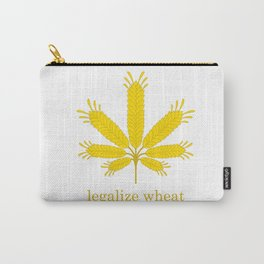 Legalize Wheat Carry-All Pouch