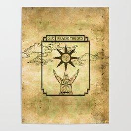 Praise The Sun - Tarot Solaire Poster