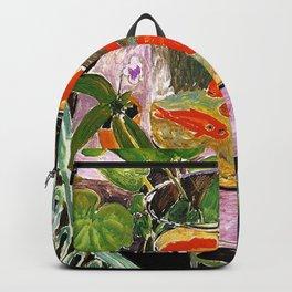 Henri Matisse Goldfish 1911 Backpack