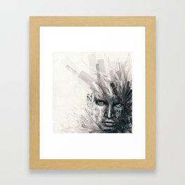 Alter-Axis Framed Art Print