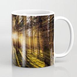 Beautiful Sunset Forest Landscape Coffee Mug