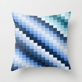 Fuzz Line #2 Throw Pillow