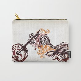 Abstract Motorcycle Carry-All Pouch