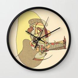 Cigar Man Wall Clock