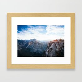 Glacier Point Framed Art Print