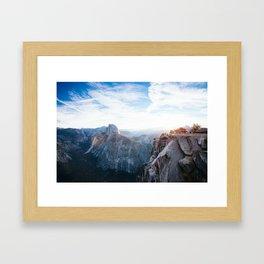 Glacier Point Framed Art Print