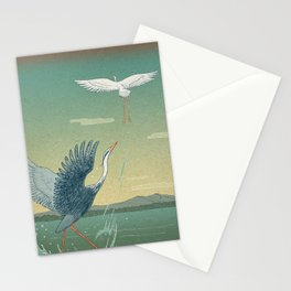 Herons Stationery Cards