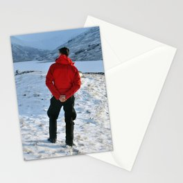 Snow and a Loch Stationery Cards