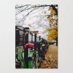 Berlin Bikes Canvas Print