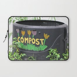 Decorated Compost Bin Laptop Sleeve