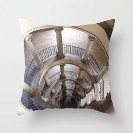 Original Bramante Staircase Throw Pillow