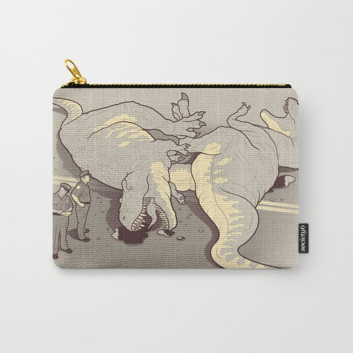 Tyrannosaurus Wrecks Carry-All Pouch