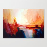 sublime Canvas Prints featuring 'Sublime' by Caroline Jane Hill