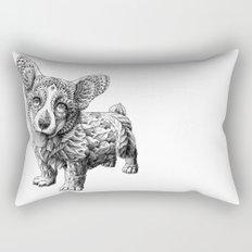 Corgi Puppy Rectangular Pillow