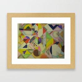 Versa Shapes Framed Art Print