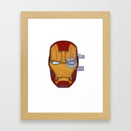 The Mask Framed Art Print