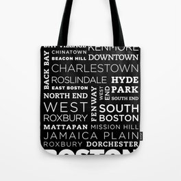 City of Neighborhoods - I Tote Bag