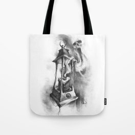 The Black Candle Tote Bag