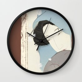 On the outside, Looking In Wall Clock