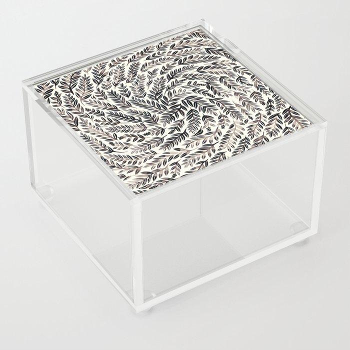 Black Branches Acrylic Box