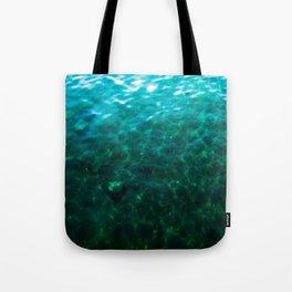 Dioptase Deeps Tote Bag