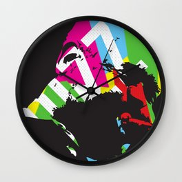 Dizzy Wall Clock