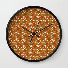 FallLeaf Wall Clock