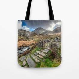 Gate to Snowdonia Tote Bag