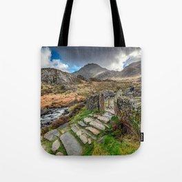 Gate to Snowdonia Tote Bag