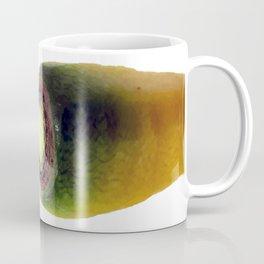 yello carrot top vegetable portrait Coffee Mug