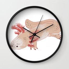 Aztec Salamander Wall Clock
