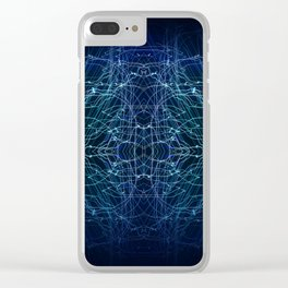 Energy Channels Clear iPhone Case