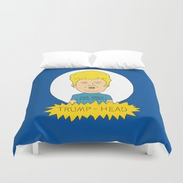 TRUMP-HEAD Duvet Cover